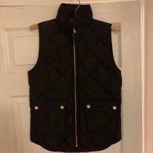 J.Crew Excursion Vest (Black)